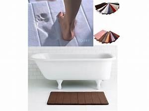 tapis de bain micro dry memoire de forme sensei tapis With tapis persan avec canape a memoire de forme