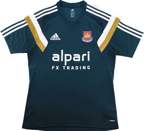 2014-15 West Ham Adidas Training Shirt (Excellent) L ...