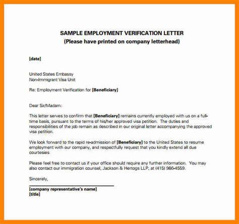 11 employment verification letter for visa assembly resume