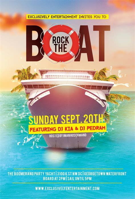 Rock The Boat Event by Rock The Boat On The Boomerang Yacht In Georgetown