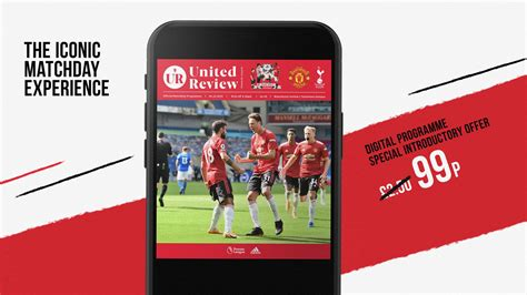 Order a digital United Review match programme for Man Utd ...