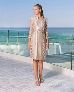 new colelction 2018 cocktail dress sonia pena 181 With robe maman mariée