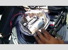 BMW E53 X5 Rear Suspension Airbag Removal Part 2 YouTube