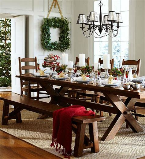 holiday table decorating class  pottery barn