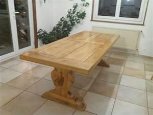 Table Chene Clair : belle table chene massif clasf ~ Teatrodelosmanantiales.com Idées de Décoration