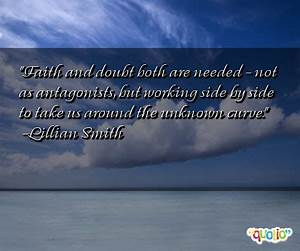 Uncertainty Quo... Faith And Uncertainty Quotes