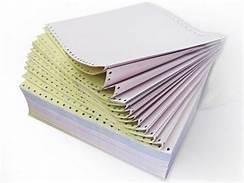 کاغذ پیوسته کاربن لس 80 ستونی 2 نسخه توسکا