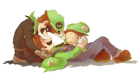 Mr L Luigi And Baby Luigi Cute Mario Things 3