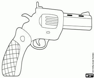 ¡sólo sigue estos sencillos pasos y aprenderás cómo hacerlo! Juegos de Armas para colorear, imprimir y pintar
