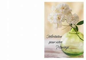Carte De Voeux à Imprimer Gratuite : carte voeux mariage a imprimer gratuite id es cadeaux ~ Nature-et-papiers.com Idées de Décoration