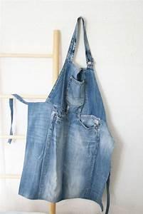 Schürze Nähen Ideen : farbdoktor jeanssch rze diese sch rze habe ich aus einer alten jeans gen ht viele teile braucht ~ Eleganceandgraceweddings.com Haus und Dekorationen