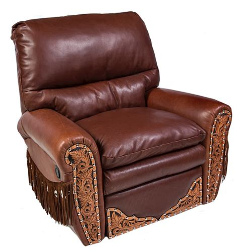 Cowhide Recliner by The Ultimate Recliner Leather Cowhide