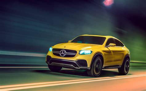 2018 Mercedes Benz Glc Coupe Concept 2 Wallpaper Hd Car