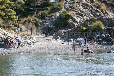 balanti beach  port vendres pyrenees orientales