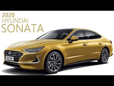 2020 Hyundai Sonata Yellow by 2020 Hyundai Sonata Sports A Radically Different Design