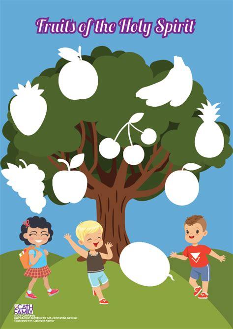 fruits   holy spirit tree cathfamily
