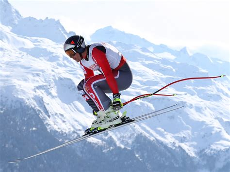 Olympic Downhill Skiing