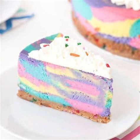 bake unicorn cheesecake   delicious dream  true