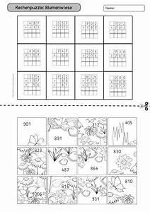 Puzzle Zum Ausdrucken : mathe rechnen zahlenraum bis 1000 klasse 3 lehrerblog ~ Lizthompson.info Haus und Dekorationen
