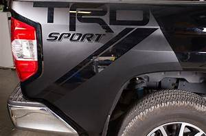 Toyota Tundra 2014 Vinyl Graphics for Bed Fender Quarter Panel