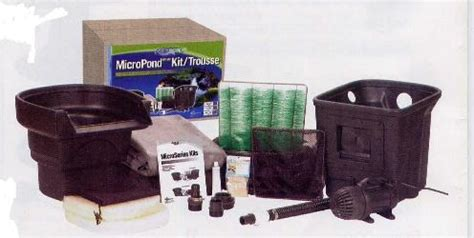 Aquascape Micropond Kit by Aquascape Signature Series Micropond Water Garden Complete