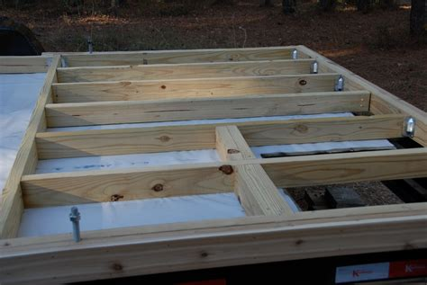 how to frame a floor framing the floor the tiny