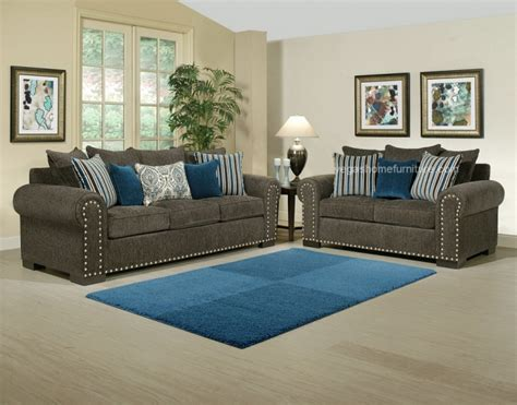 razor grey  turquoise living room las vegas furniture