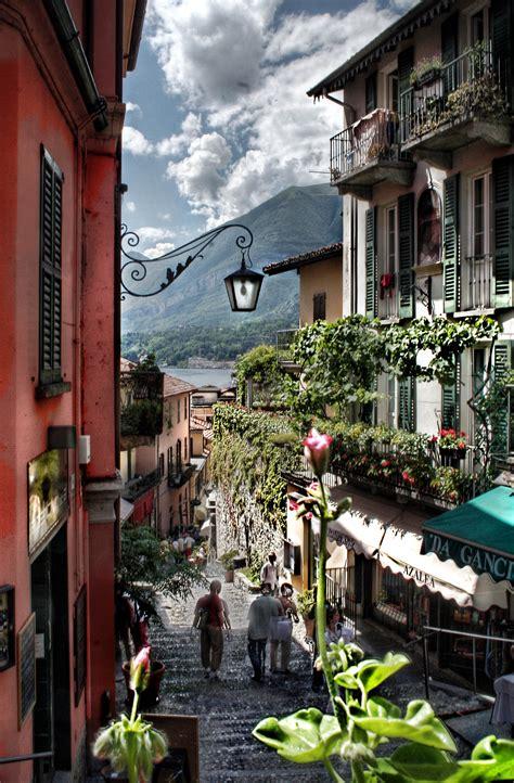 Bellagio And The Lake Of Como Lombardia Italia Italy