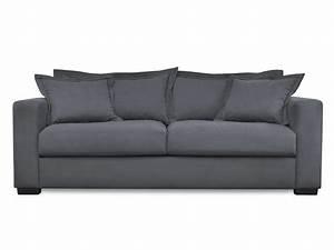 canape 3 places en tissu talsi pas cher canape With tapis bébé avec canape tissu gris pas cher