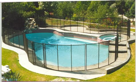 ideas for pool fencing swimming pool fencing ideas some simple but nice swimming pool ideas home furniture and decor