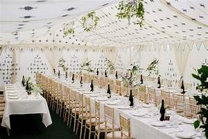 How to decorate a marquee wedding venue - Love Our Wedding