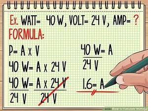 Kilowatt Berechnen : how to calculate wattage formula and tools wikihow ~ Themetempest.com Abrechnung