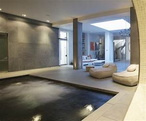 Basement Spa Swimming Pool, London Guncast Swimming Pools