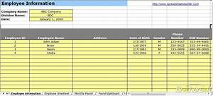 Calculate Payroll Taxes 2020 Best Payroll Spreadsheet For Excel 2019