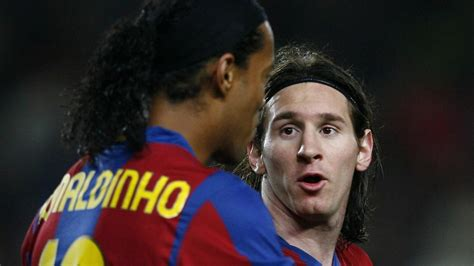 Ronaldinho: Lionel Messi still the best in world despite ...