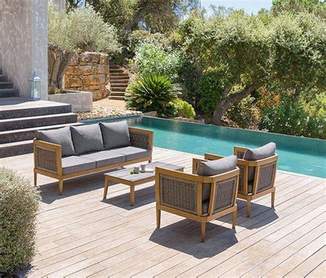 Salon de jardin aluminium Hesperide modu00e8le Vu00e9rone u00e0 prix mini
