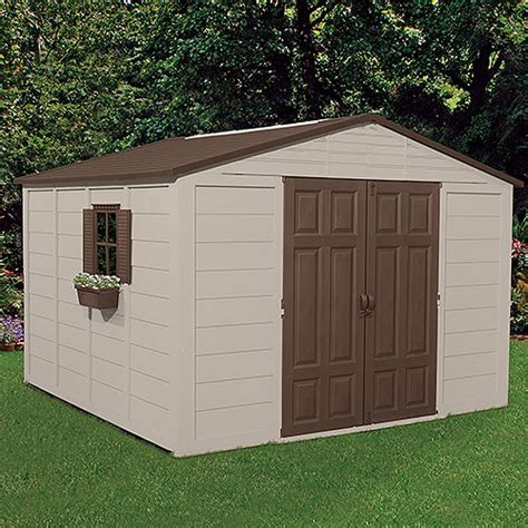 outdoor sheds walmart suncast 10 x 10 outdoor storage building shed