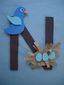 letter n crafts for preschoolers google search With letters for craft projects