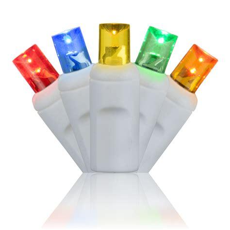 multi color led lights 5mm multi color led christmas lights white wire