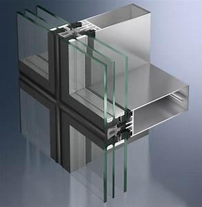 Schüco Pfosten Riegel : gro fl chige semi structural glazing fassaden mit zwei bzw dreifachverglasung ~ Frokenaadalensverden.com Haus und Dekorationen