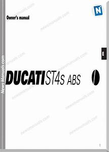 Ducati St4s Abs 03 Owners Manual