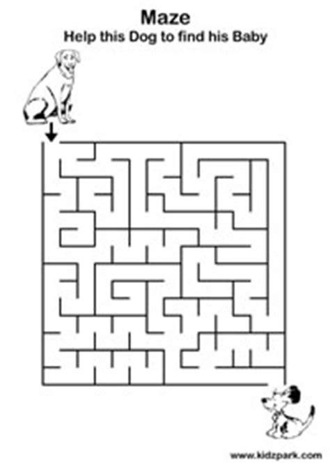 downloadable maze easy activity sheetplay school activity