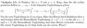 Binomialkoeffizienten Berechnen : beweis mit bernoullische ungleichung mathelounge ~ Themetempest.com Abrechnung