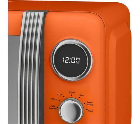 Buy SWAN Retro SM22030ON Solo Microwave   Orange   Free