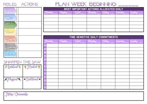 printable   weekly wall planner calendar based
