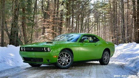 2017 Challenger Gt Awd by 2017 Dodge Challenger Gt Awd Drive Four Season