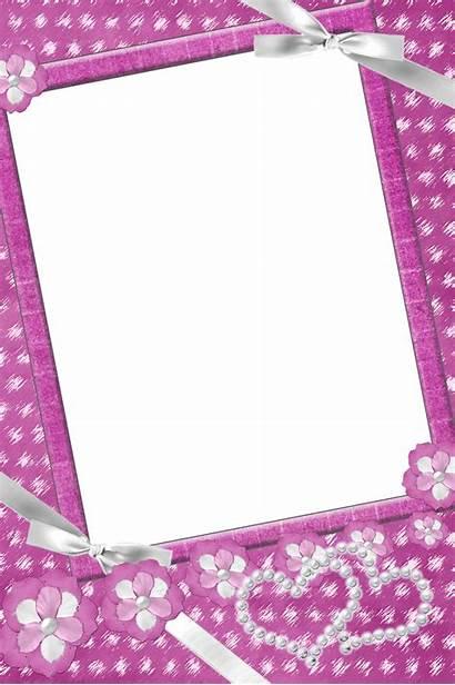 Transparent Frames Frame Pearls Flowers Clipart Flower