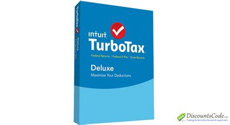 TurboTax Deluxe Coupon Code Online