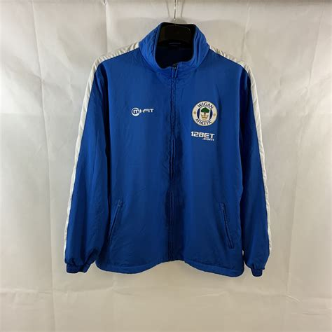 Wigan Athletic Track Football Jacket 2011/12 Adults Large ...