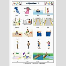 Adjectives Flashcards For Children  形容词 3  Teaching Children Adjectives Vocabulary Easily
